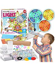 Kaleidoscope Making Kit with Triangular Rainbow Prism, FunKidz Education Science Craft Kit for Kids Primary Grades Class Experiment Kit Birthday Party Favors