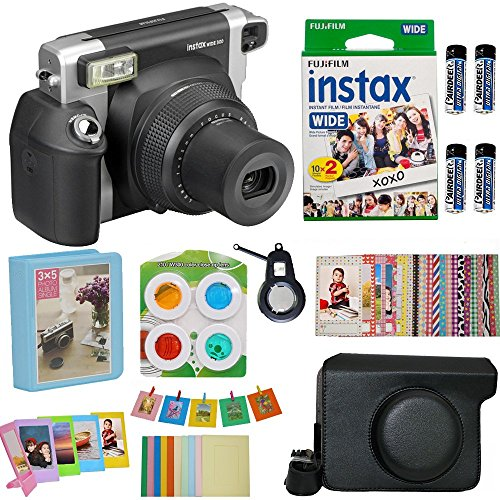 Fujifilm Instax Wide 300 Instant Film Camera   with Wide Fuj