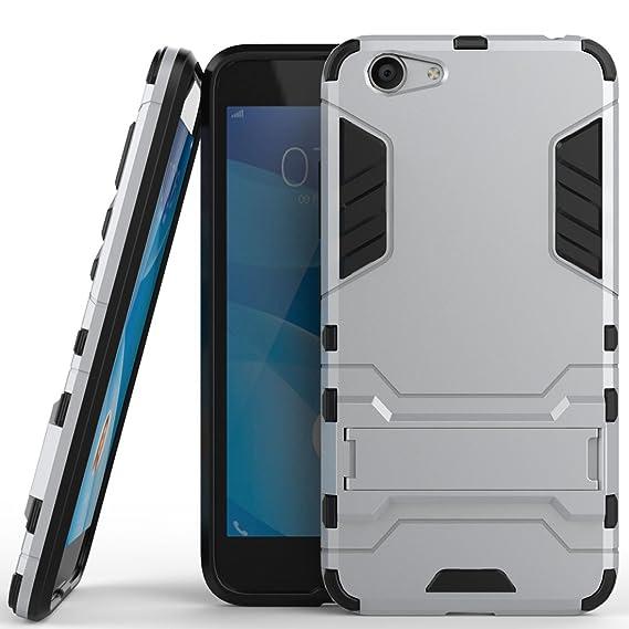 Amazon com: vivo Y53 Hybrid Case, vivo Y53 Shockproof Case