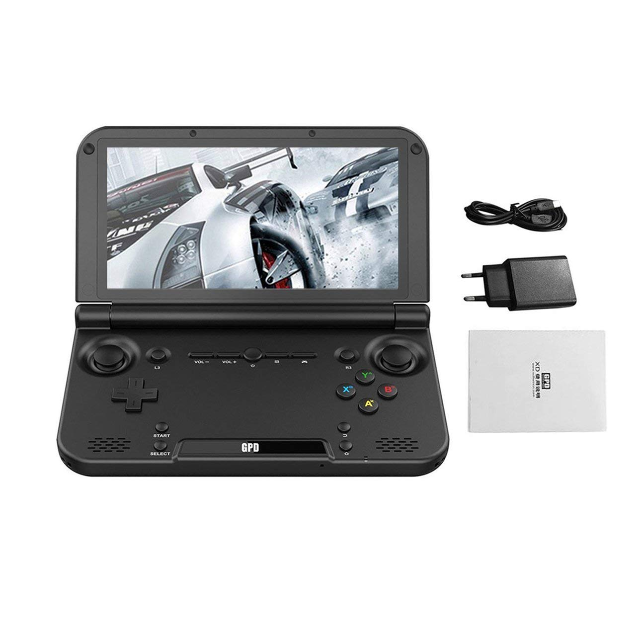 Ballylelly Console di Gioco palmare MTK8176 per Game Gamepad 4GB   32GB GPD XD Plus da 5 Pollici