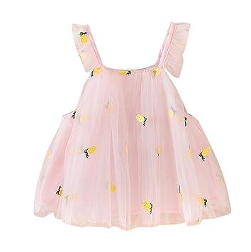 8003b3dac3224 ベビー服 女の子 Yochyan 子供 キッズドレス 子供服 ドレス 可愛い キュート ノースリーブ スリングドレス プリンセスドレス