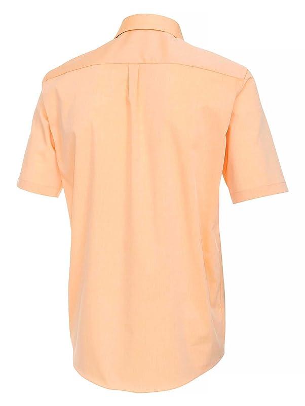 CASAMODA Herren Businesshemd 008060 auch große Größen 100% Baumwolle  pfirsich 39/M: Amazon.de: Bekleidung