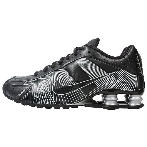 Nike Womens Shox R4 FW 395816-003 Black Black-Metallic Silver Womens Shoes 627850d189