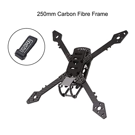 Hootracker 250mm FPV Racing Drone Frame with 4mm Arms, True X ...