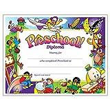 Trend Enterprises Preschool Diploma, 30 per Package (T-345)