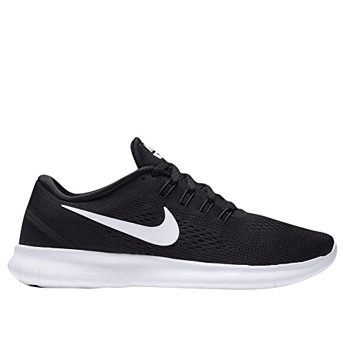 best sneakers eaac9 5ef09 Amazon.com   Women s Free Run + 2 Textile Running Shoes,  Black Anthracite White, 7.5 B(M) US   Road Running
