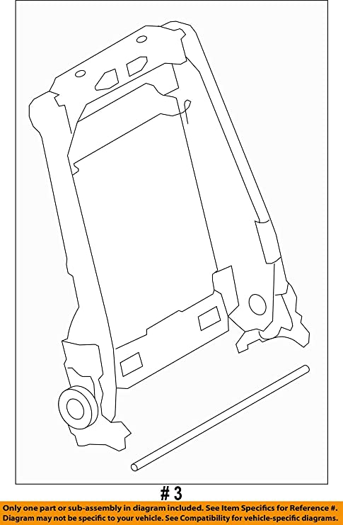 f 150 frame diagram amazon com ford oem 12 14 f 150 front seat seat back frame left  ford oem 12 14 f 150 front seat seat