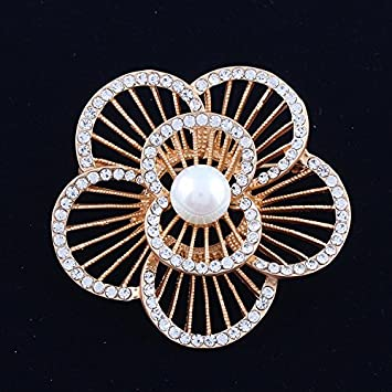 Flower Jewelry Brooch Bouquet, Corsage For Bridal Shower Wedding  Invitation, Costume Party Dress,