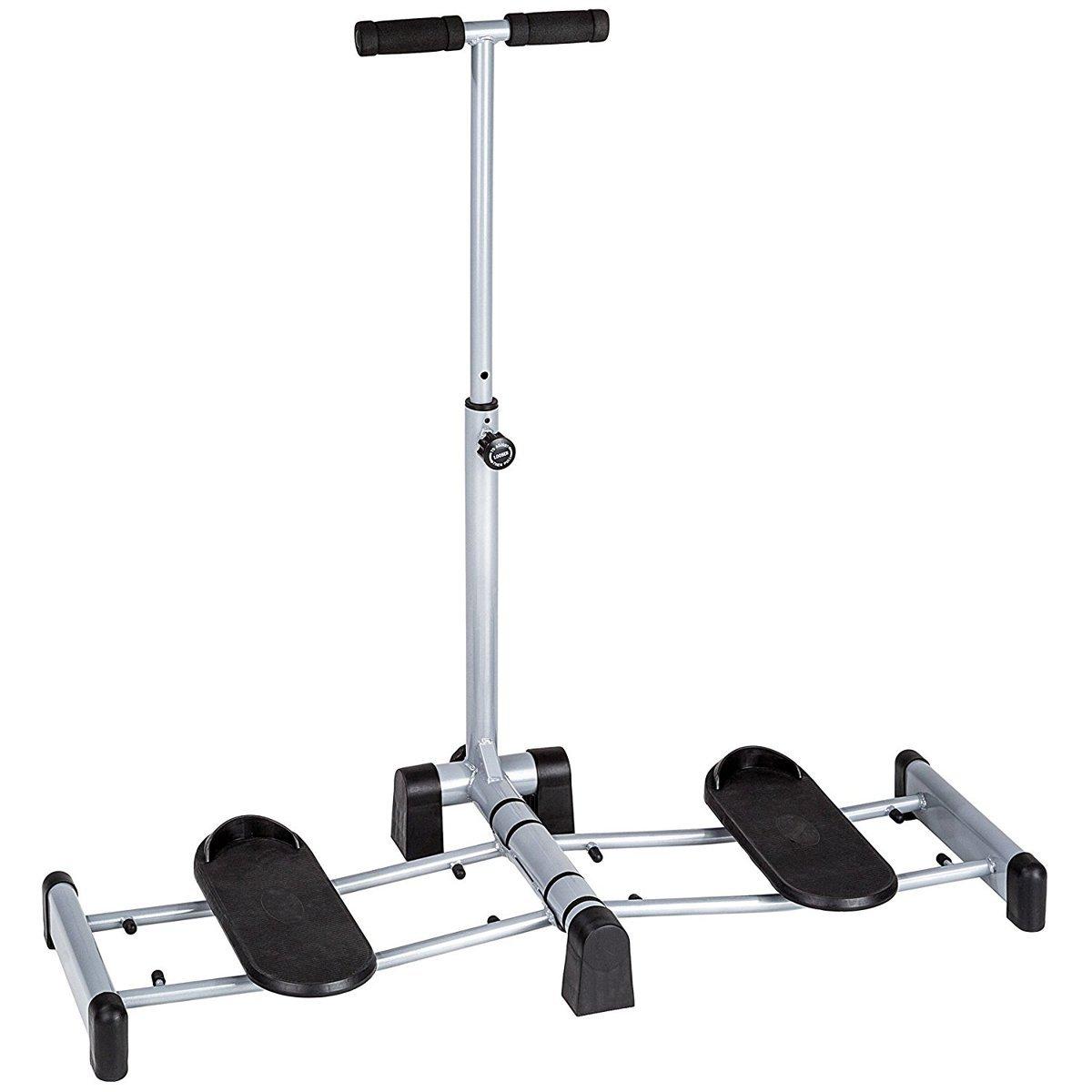 Fitness House Leg Magic - Aparato para piernas y glúteos, Color Gris, Talla única 889957338271