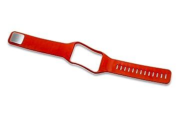 vhbw Pulsera Correa de Recambio Naranja para Smartwatch ...