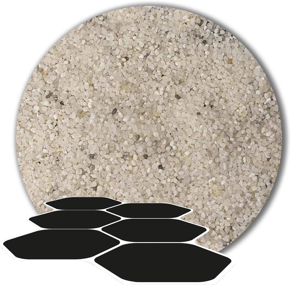 25 kg Fugensand Einkehrsand Quarzsand wei/ß naturwei/ß 0,1-0,3 mm