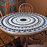 Mediterranean Stone-Look Table Covers offers
