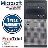 Dell 9020 Business High Performance Tower Desktop Computer PC (Intel Core i5 4570 3.2G,16G RAM DDR3,1TB HDD,DVDRW,Windows 10 Professional)(Certified Refurbished)