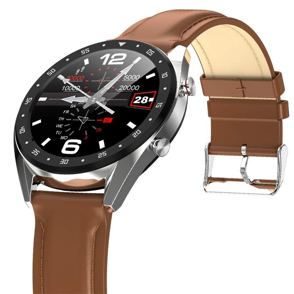 YEZIJIN L7 Color Screen Blood Pressure Heart Rate Monitor Smart Watch Pedometer Tracker Under 50 Dollars by YEZIJIN Men's Watch (Image #2)