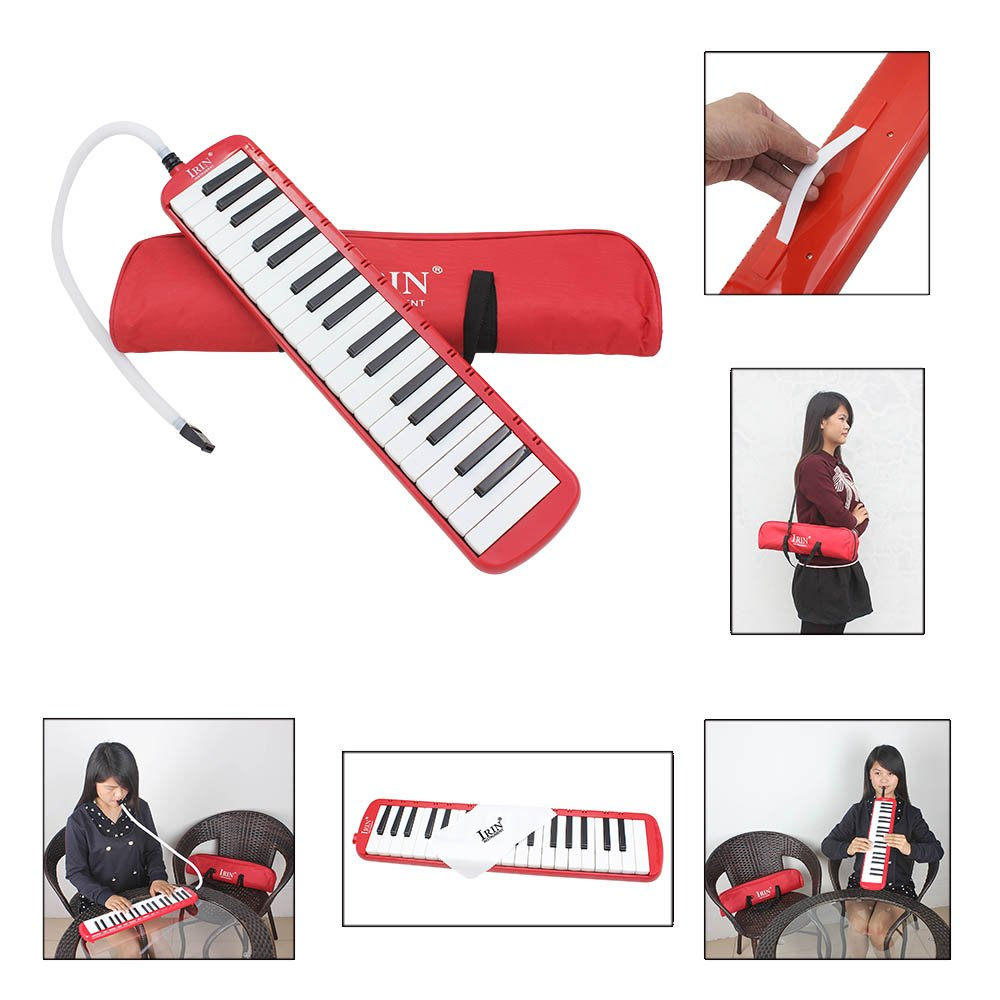 ammoon 37 Piano Keys Melodica Pianica Musical Instrument with Carrying Bag for Students Beginners Kids by ammoon (Image #2)
