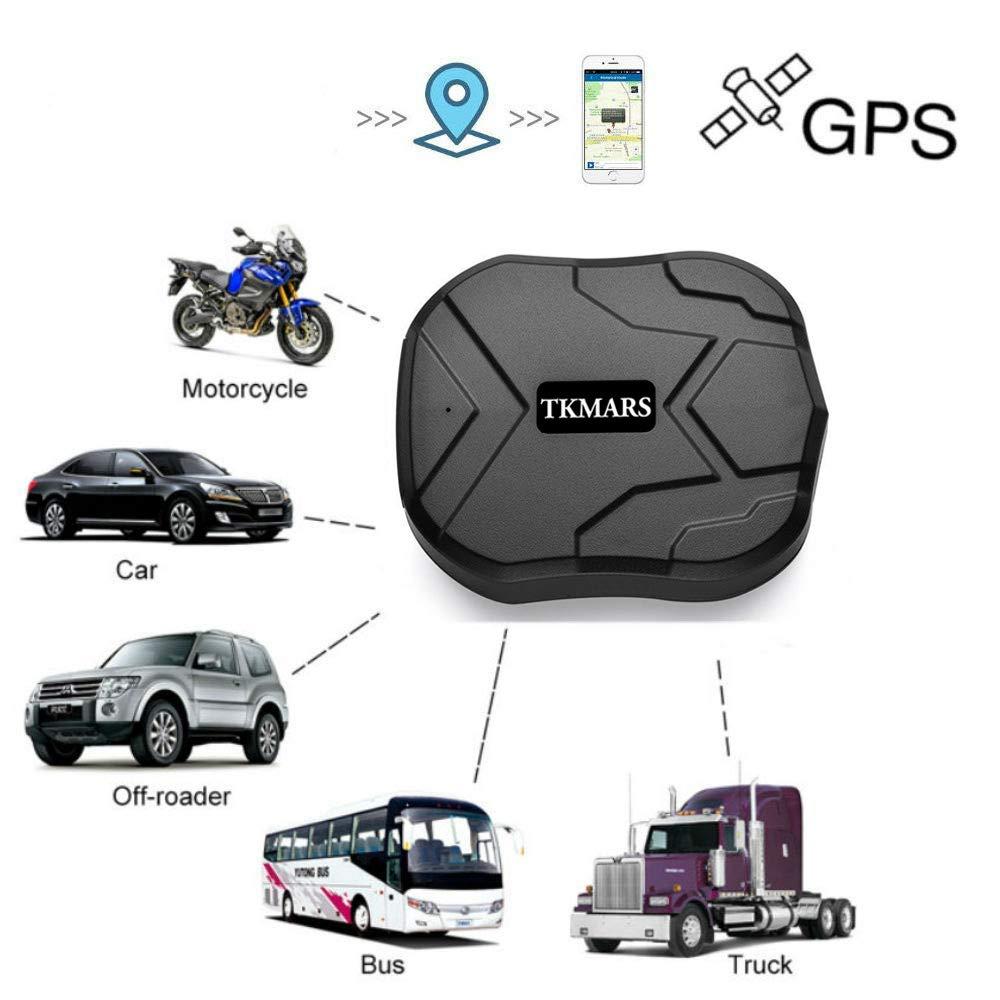 Hangang Localizador GPS para Coche Seguimiento en Tiempo Real Posicionamiento Preciso Monitor Magnético Impermeable a Distancia de 150 Días Standbygps ...