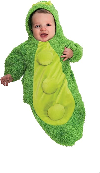 23e1f7d25 Amazon.com  Rubie s Costume Chenille Pea In The Pod Bunting Costume ...
