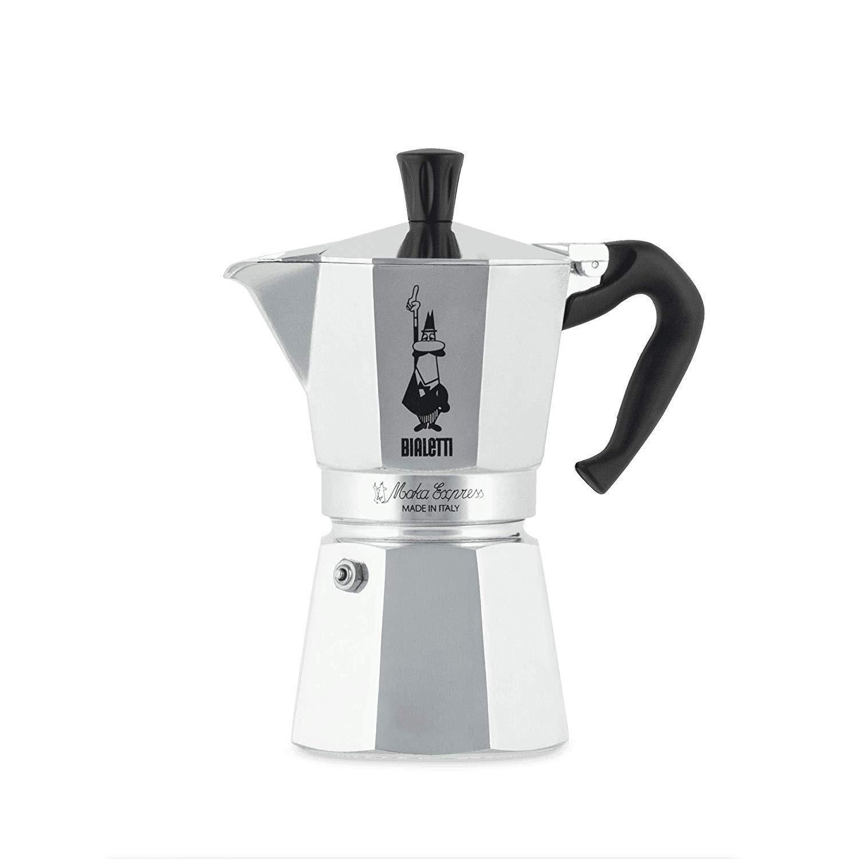 Bialetti Moka Express-Cafetera de expreso, Aluminio, Plateado, 6 ...