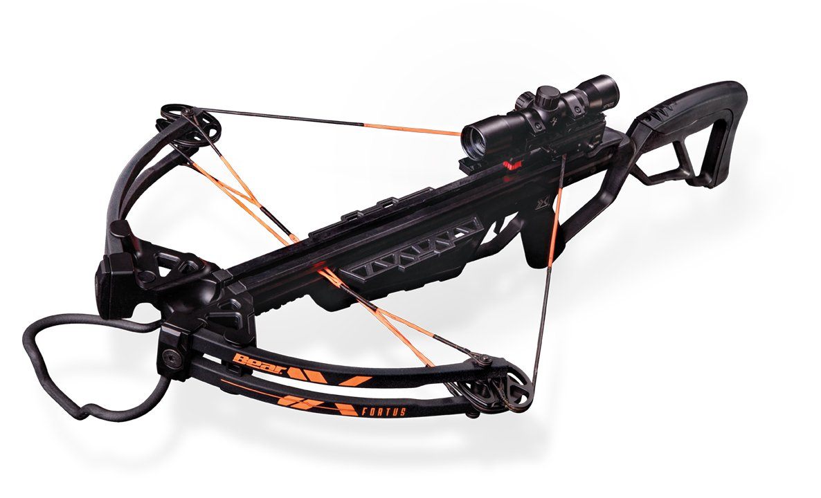 Bear X Crossbows Archery Fortus Crossbow Package, 32'', Black
