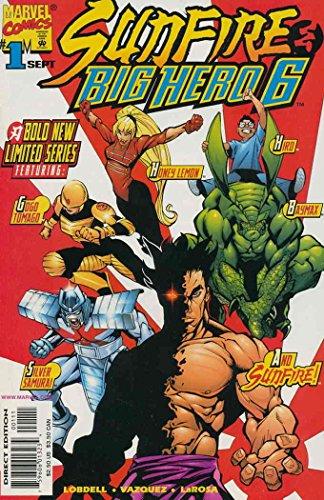 Big Hero 6 Comic (Sunfire & Big Hero Six #1 (1 of)