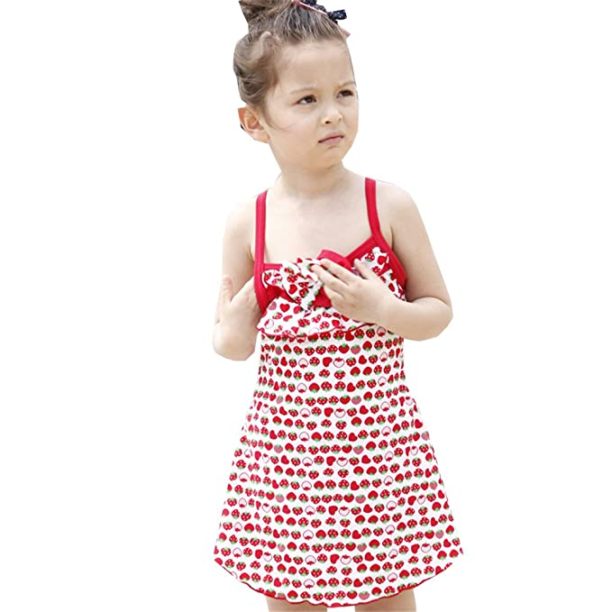 Amazon.com: fanceey lindo bebé niña bañadores traje de baño ...