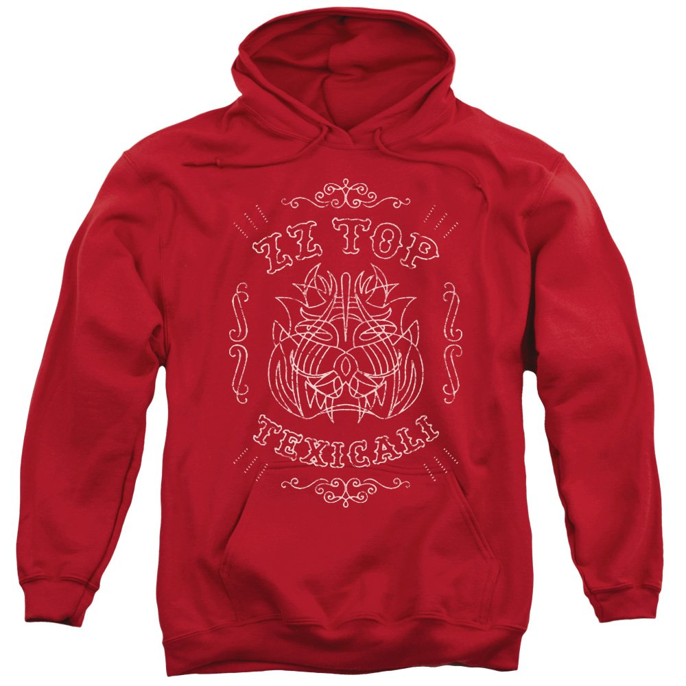 Zz Top Mens Texicali Demon Pullover Hoodie