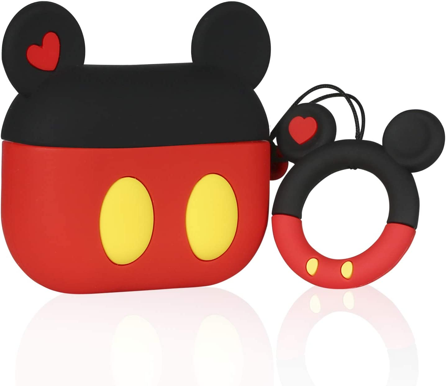 Cartoon 3d Animal Air Pods Design Cover Cute Mickey Airpod Case