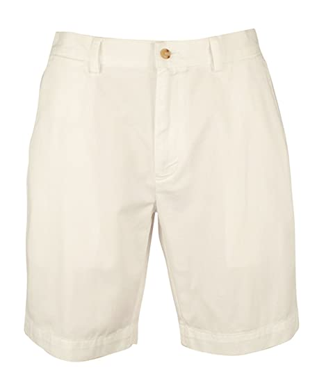 3bd47b7944d4 Polo Ralph Lauren Classic Fit Flat Front Chino Shorts 40 at Amazon Men s  Clothing store