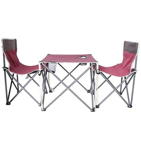 Mesa plegable de camping mesa Conjuntos de sillas y mesas de ...