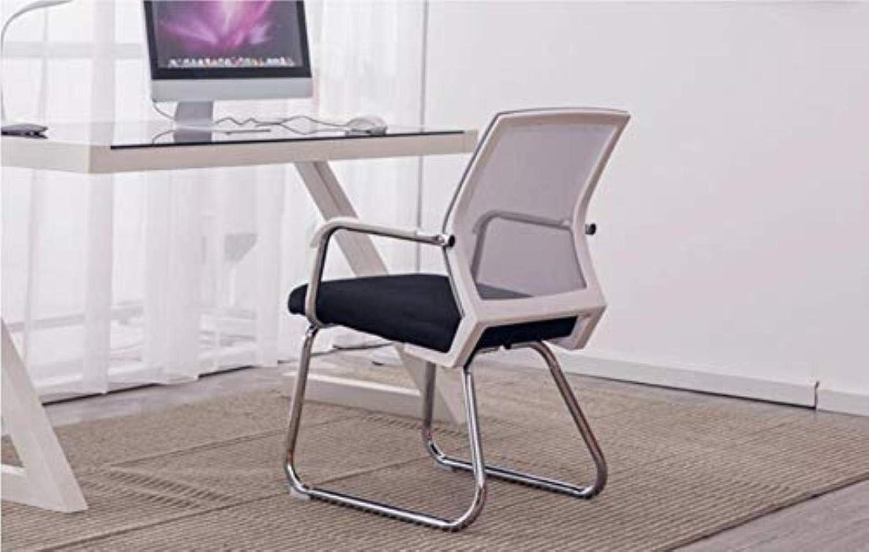 Kontorsstol LHY huvudkonferensstol personalpall enklare baksäte spel Mahjong stol hållbar (färg: D) D