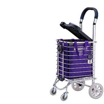 Comprar un carrito de verduras carrito pequeño carretilla del carro carretilla puede ser empujado puede sentarse