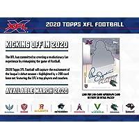 $32 » 2020 Topps XFL Football 10ct Blaster Box