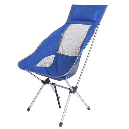 Amazon.com: Silla reclinable plegable para uso al aire libre ...