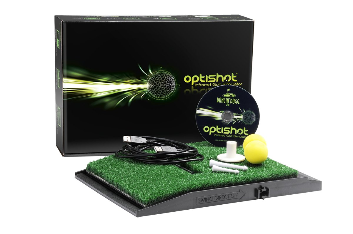 What to Get your Dad for Christmas in 2016 - Dancin Dogg OptiShot Infrared Golf Simulator