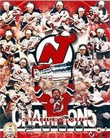 Autograph Warehouse 89863 2000 New Jersey Devils 8 x 10 Photo Stanley Cup Champions Martin Brodeur Scott Stevens Scott Niedermayer Patrick Elias Scott Gomez Claude Lemieux