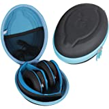 Hetmitshell Hard EVA Travel Case Fits Mpow 059 Bluetooth Headphones Over Ear Hi-Fi Stereo Wireless Headset Foldable Soft…