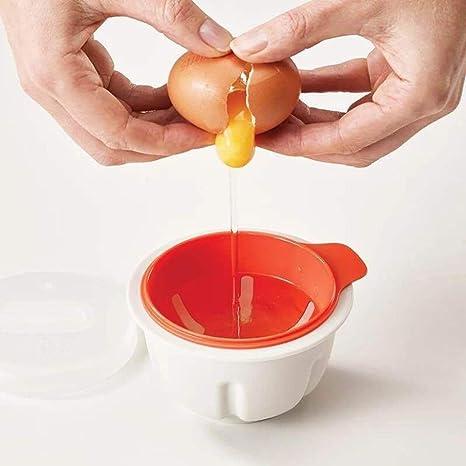 COCEDOR huevos microondas escalfador de huevos: Amazon.es: Hogar