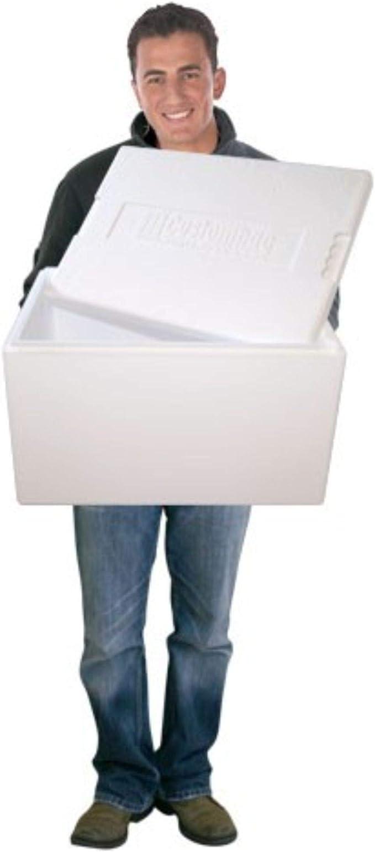 QTY 1 8L Polystyrene Box Fish Box Cool Box HoCo Box