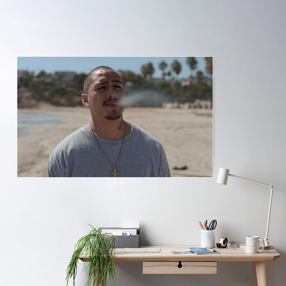 Oscar Diaz Tv Show Teenage Spooky Cesar Diaz On My Block Los Angeles Jamal Turner I S Poster Gift For Home Decor Wall Art Print Poster