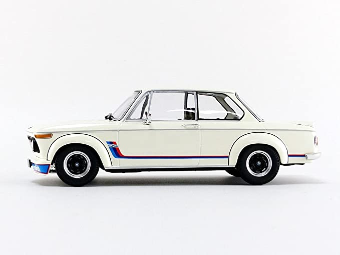 Minichamps 1:18 1973 BMW 2002 Turbo - Blanco - 155026200: Amazon.es: Juguetes y juegos