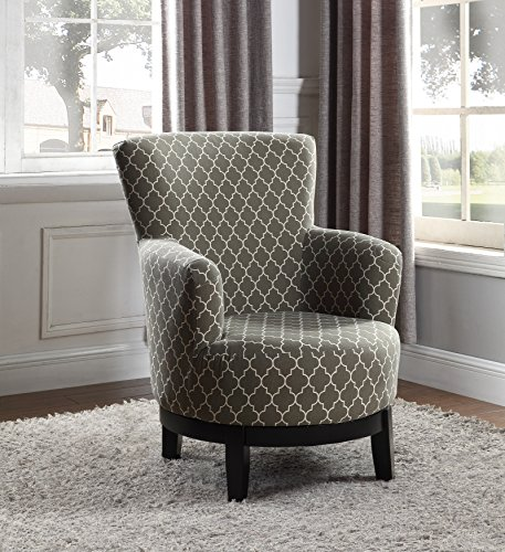 - NHI Express 90023-27 London Swivel Accent Chair, Regular