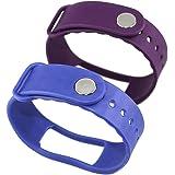 Correa de Recambio para Lintelek® Fitness Tracker I3 / I3HR,Azul/Purple