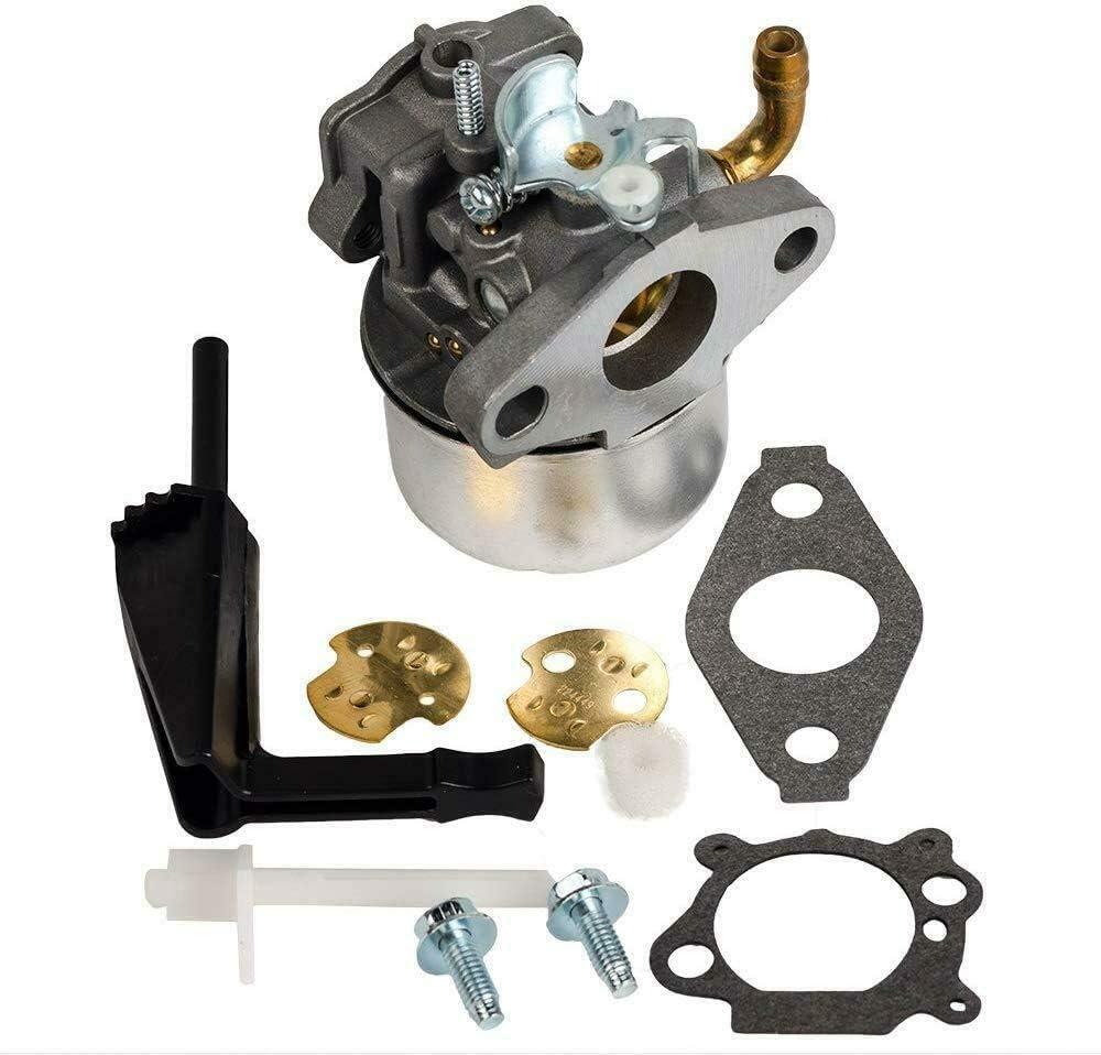Yomoly Carburetor Compatible with Craftsman 247.776350 Wood Chipper Briggs Intek 7.5HP Engine Carb