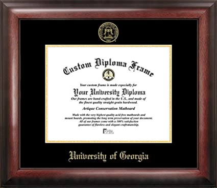 Amazon.com : Georgia Bulldogs UGA Home Office Diploma Picture Frame ...