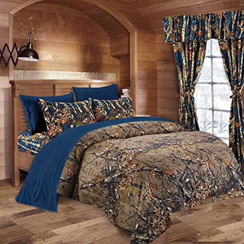 20 Lakes Woodland Hunter Camo Comforter Set