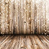SJOLOON 8x8ft Vinyl Photography Background Wood Floor Wall Scene Backdrop Photo Studio Props