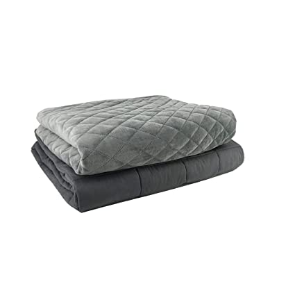 Amazon.com  Weighted Blanket 2.0 Heavy Weighted Blanket Set for ... a65bc8ea0