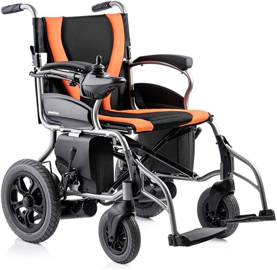 電動車椅子、軽量ポータブル折りたたみヘビーデューティーモビリティスクーター、コンパクト電動車椅子