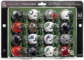 NFL Pro Football Helmet Playoff Tracker