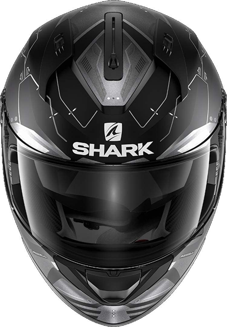 Motorcycle helmets Shark RIDILL 1.2 MECCA WKR Black//White//Red S